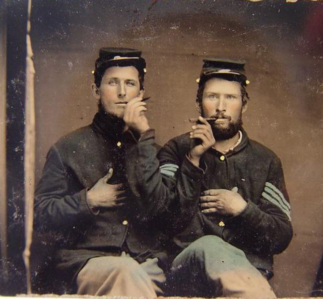 Two cigar soldiers
